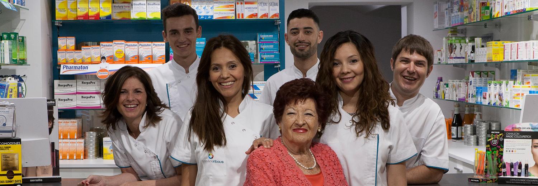 Equipo - Farmàcia y Ortopèdia Aribau 18