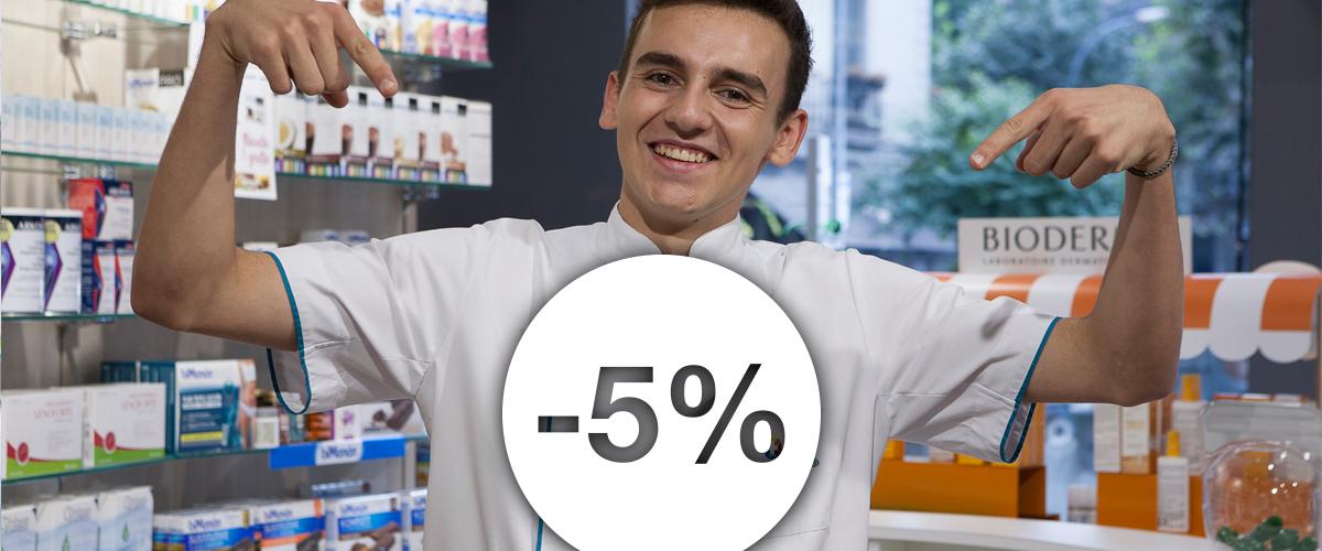 Tarjeta de fidelización - Farmàcia i Ortopèdia Aribau 18